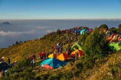 Montaña de Prau foto de archivo libre de regalías