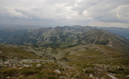 Montaña de Rila Fotos de archivo libres de regalías