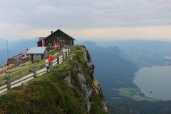Montaña de Schafberg Fotos de archivo