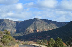 Montaña de Sedona Imagen de archivo libre de regalías