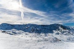 Montaña de Sierra Nevada Fotografía de archivo