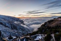 Montaña de Sierra Nevada, España Fotos de archivo