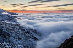Montaña de Sierra Nevada, España Imagen de archivo