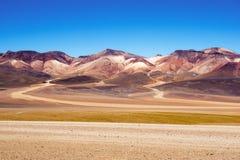 Montaña de siete colores Bolivia Fotos de archivo libres de regalías