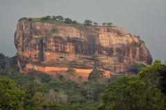 Montaña de Sigiriya Foto de archivo libre de regalías