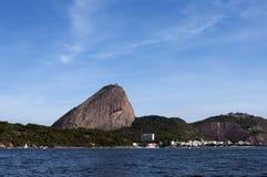 Montaña de Sugarloaf, Rio de Janeiro - el Brasil Fotografía de archivo