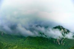 Montaña de Tíbet GanNan Fotos de archivo libres de regalías