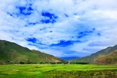 Montaña de Tíbet GanNan Imagen de archivo libre de regalías