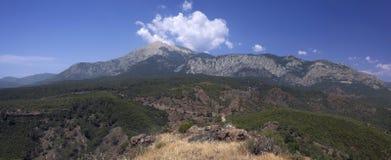 Montaña de Tahtali Foto de archivo libre de regalías