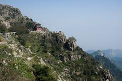 Montaña de Taishan Fotografía de archivo