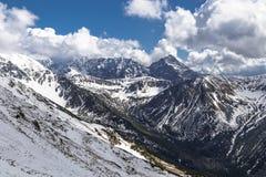 Montaña de Tatras Fotografía de archivo