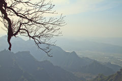 Montaña de Tianmen imagen de archivo