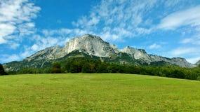 Montaña de Untersberg imagenes de archivo