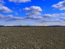 Montaña de Verkhoyansk Imágenes de archivo libres de regalías