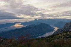 Montaña de Vrmac montenegro Fotografía de archivo