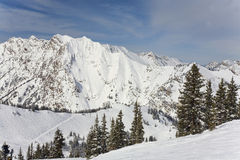 Montaña de Wasatch Imágenes de archivo libres de regalías
