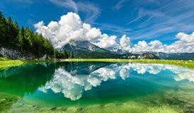 Montaña de Watzmann, Berchtesgaden Imagen de archivo libre de regalías