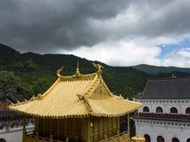 Montaña de Wutai Imagenes de archivo