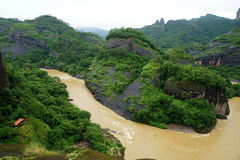 Montaña de Wuyi Fotografía de archivo libre de regalías