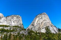 Montaña de Yosemite Foto de archivo libre de regalías