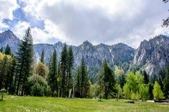Montaña de Yosemite Imagen de archivo