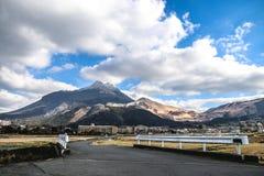 Montaña de Yufuin Foto de archivo libre de regalías