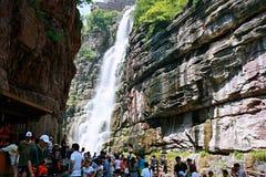 Montaña de Yuntai fotografía de archivo libre de regalías
