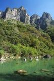 Montaña de Yuntaishan Foto de archivo libre de regalías