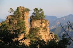 Montaña de Zhangjiajie Imagenes de archivo