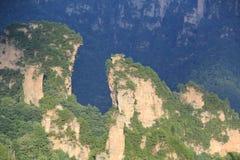 Montaña de Zhangjiajie Imagen de archivo