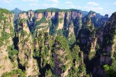 Montaña de Zhangjiajie Imagen de archivo libre de regalías