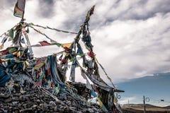 Montaña de Zheduo en China del oeste Fotos de archivo libres de regalías