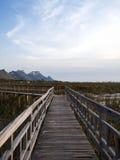 Montaña debajo del cielo azul 7 fotos de archivo libres de regalías