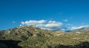 Montaña del bosque del Estado de la secoya Foto de archivo