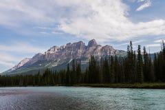 Montaña del castillo Fotos de archivo
