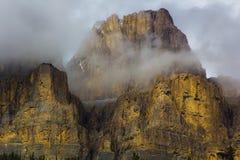 Montaña del castillo Fotografía de archivo