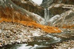 Montaña del changbai de China en otoño Imágenes de archivo libres de regalías