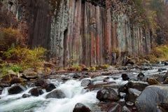 Montaña del changbai de China en otoño Imagen de archivo libre de regalías