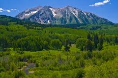 Montaña del este 2 de Beckwith Imagen de archivo