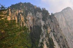 montaña del Hua-shan Fotografía de archivo
