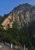 montaña del Hua-shan Fotografía de archivo libre de regalías