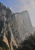 montaña del Hua-shan Imagen de archivo