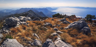 Montaña del mar Fotos de archivo libres de regalías