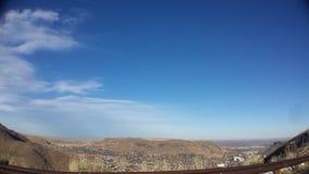 Montaña del norte de la tabla Foto de archivo