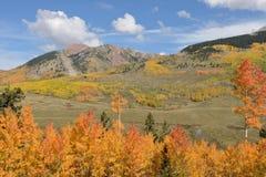 Montaña del otoño Fotografía de archivo libre de regalías