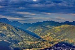 Montaña del paisaje Fotografía de archivo