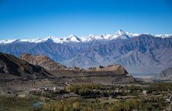 Montaña del paisaje, la India septentrional Fotografía de archivo libre de regalías