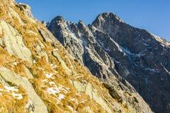 Montaña del panorama Fotos de archivo