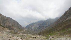 Montaña del paso de Lowari Foto de archivo