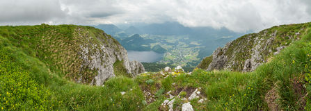 Montaña del perdedor, Austria Fotos de archivo